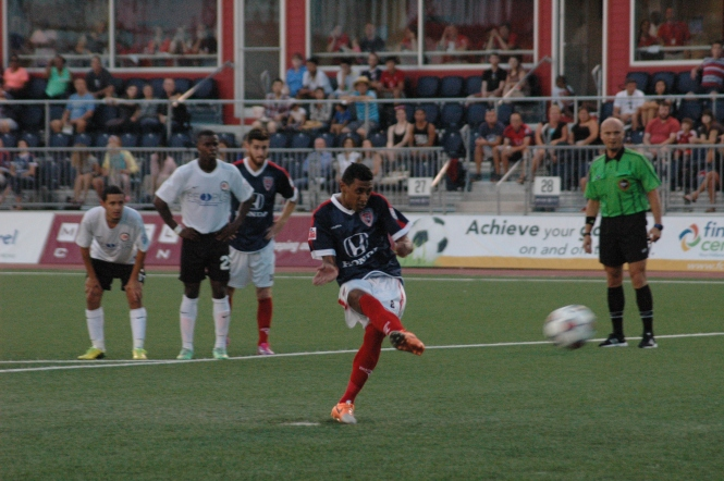 Brazilian World Cup Champ Kléberson netted 5 penalty goals for Indy Eleven in its inaugural 2014 season.