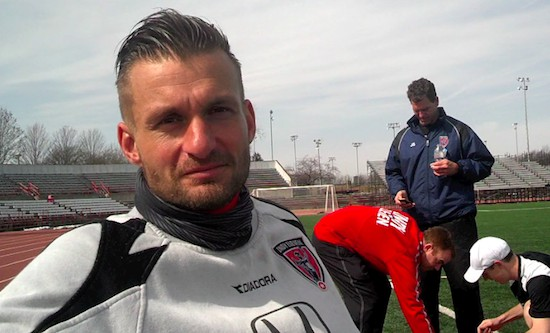 Indy Eleven's first player employee Kristian Nicht is a  veteran of Germany's elite Bundesliga. The 6' 4', 224-pound, 32-year-old played 2,430 minutes for Indy Eleven in 2014.