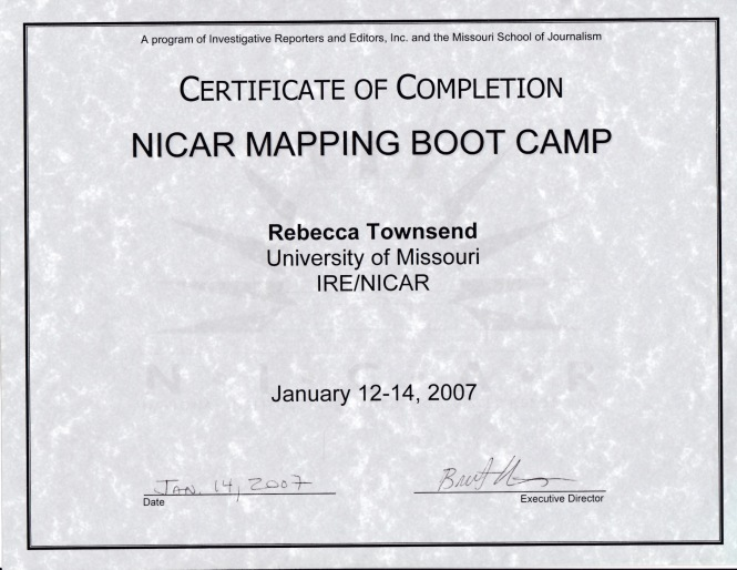 NICAR Mapping Bootcamp