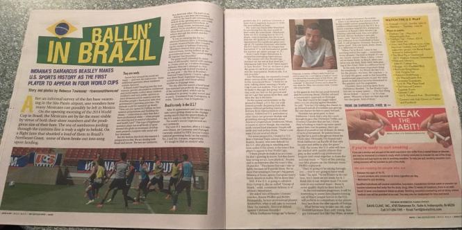 Ballin in Brazil Story